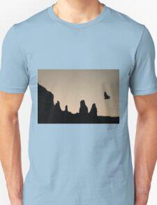 Twilight Flight Toned Unisex T-Shirt