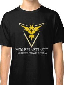 House Instinct v2 (GOT + Pokemon GO) white Classic T-Shirt