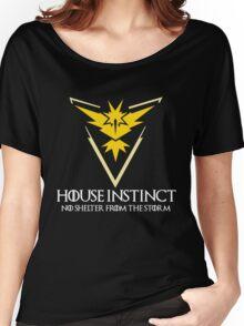 House Instinct v2 (GOT + Pokemon GO) white Women's Relaxed Fit T-Shirt