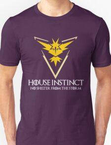 House Instinct v2 (GOT + Pokemon GO) white Unisex T-Shirt