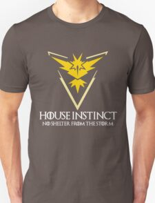 House Instinct v2 (GOT + Pokemon GO) white Unisex T-Shirt