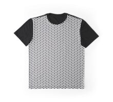 Dots pattern in black and white Graphic T-Shirt