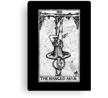 The Hanged Man Tarot Card - Major Arcana - fortune telling - occult Canvas Print