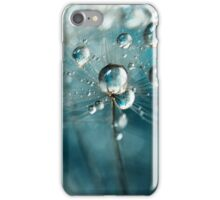 Indigo with White Sparkles iPhone Case/Skin