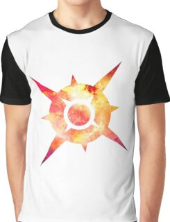 Pokémon Sun Logo Space Graphic T-Shirt