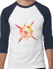 Pokémon Sun Logo Space Men's Baseball ¾ T-Shirt