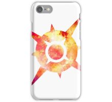 Pokémon Sun Logo Space iPhone Case/Skin