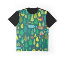 In Contact With Nature Graphic T-Shirt