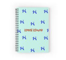Krazy Klowns (balloon animals) Spiral Notebook