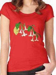 Angel's Trumpet Women's Fitted Scoop T-Shirt