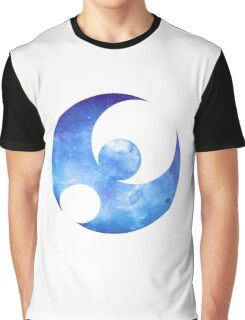 Pokémon Moon Logo Space Graphic T-Shirt