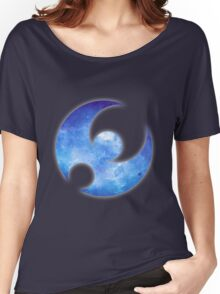 Pokémon Moon Logo Space Women's Relaxed Fit T-Shirt