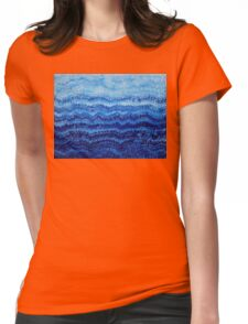 Sea & Sky original painting Womens Fitted T-Shirt