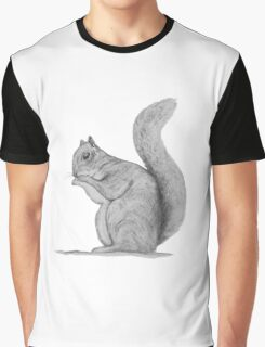 Squirrel in pencil Graphic T-Shirt