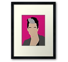 Russell Kane Vector Artwork Framed Print