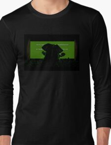 Down in front Long Sleeve T-Shirt