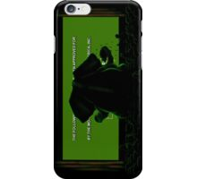 Down in front iPhone Case/Skin