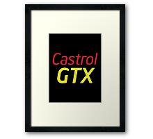 Alan Partridge 'Castrol GTX' Artwork Framed Print