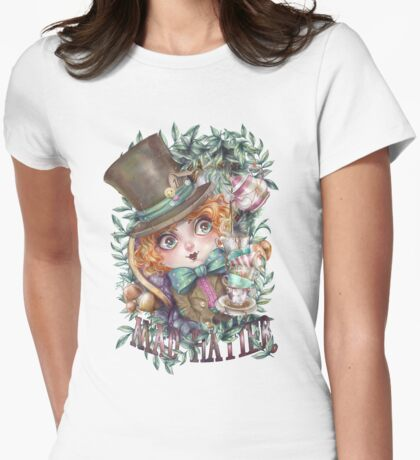 MAD HATTER | SOMBRERERO LOCO Womens Fitted T-Shirt