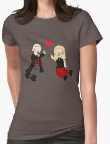 Spuffy Love Womens Fitted T-Shirt