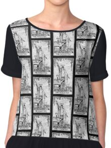 The Magician Tarot Card - Major Arcana - fortune telling - occult Chiffon Top