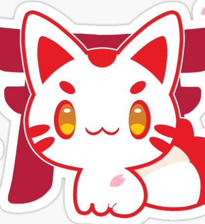 Kitsune Sticker