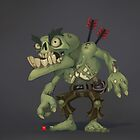 Zombie Snapper by BitGem