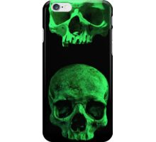 Skull quartet green iPhone Case/Skin