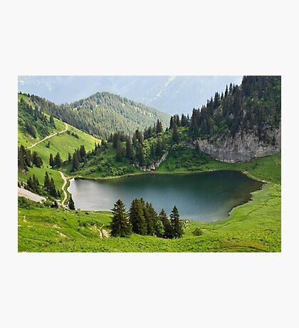 Arvouin lake Photographic Print
