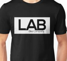 White Strip Tee - Lab Bike Company Unisex T-Shirt