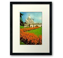 Sacre Coeur, Paris, France Framed Print