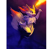 Braixen Photographic Print