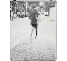 waht's up? bus has gone! iPad Case/Skin