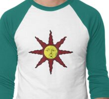 Praise the Sun Men's Baseball ¾ T-Shirt