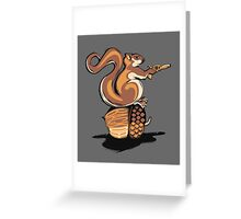 BACK OFF MY NUT! Greeting Card