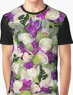 Tropical Bouquet Print Graphic T-Shirt