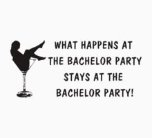 Bachelor Party (blk) by kayve