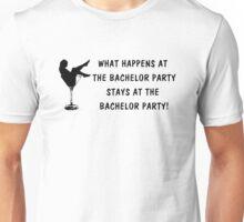 Bachelor Party (blk) Unisex T-Shirt