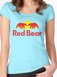 Red Bear Women's Fitted Scoop T-Shirt