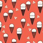 Ice Cream Cones - by Andrea Lauren by Andrea Lauren