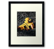 Toy Construction Framed Print