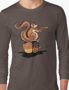 BACK OFF MY NUT! Long Sleeve T-Shirt