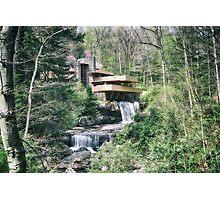 Fallingwater Photographic Print