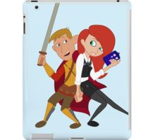 Kim & Ron Cosplay Amy & Rory iPad Case/Skin