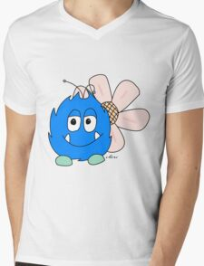 The Blue Dang by Chèri Mens V-Neck T-Shirt