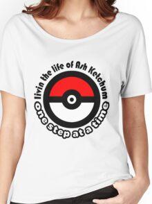 pokemon ash ketchum Women's Relaxed Fit T-Shirt