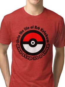 pokemon ash ketchum Tri-blend T-Shirt