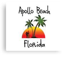 Apollo Beach Florida. Canvas Print