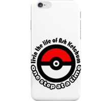 pokemon ash ketchum iPhone Case/Skin