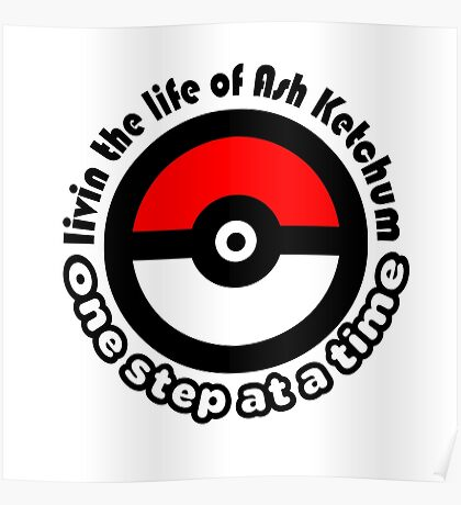pokemon ash ketchum Poster